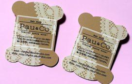 Pau&Co. 様 ショップカード