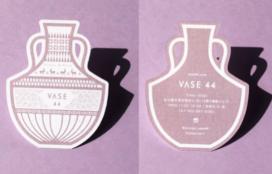Flower & Plant VASE44 様 型抜きカード