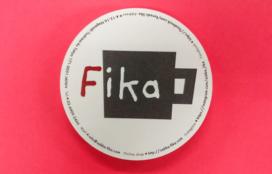 fika 様   型抜きショップカード