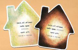 カフェ オープンご案内カード