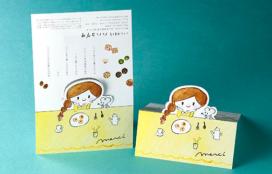 『小さな焼き菓子屋 ハハコグサ』様 パッケージ