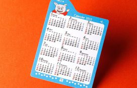 佐藤 様 型抜きカレンダー