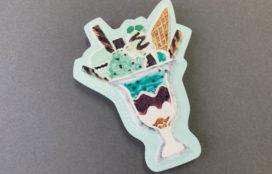 小林キノコ 様 魅惑のチョコミント型抜きポストカード