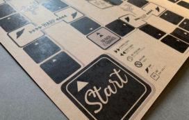 オリジナルのスゴロク印刷