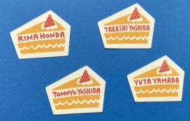 MIKI TAKAHASHI 様 「スイーツショップヨシダ」型抜き名刺